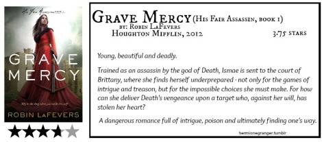 Grave Mercy by Robin ReFevers review